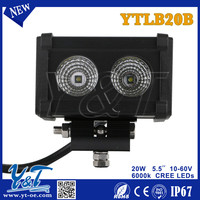 New products 2015 cheap china motorcycle off road trailer, semi-truck trailer LED light bars