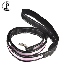 High Quality Polyester Cotton Rope dog leash led