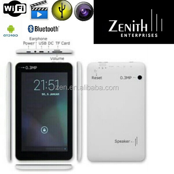 2014 Newest 7 inch Dual core Wifi Tablet