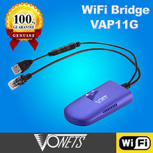 Best Selling VONETS VAP11G WiFi bridge for wifi marketing device