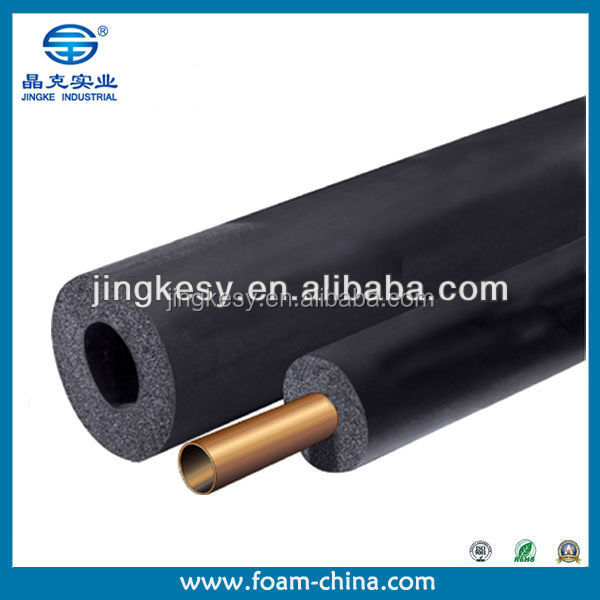 Hot water pex pipe rubber foam insulation tube foam pipe for Pex water pipe insulation