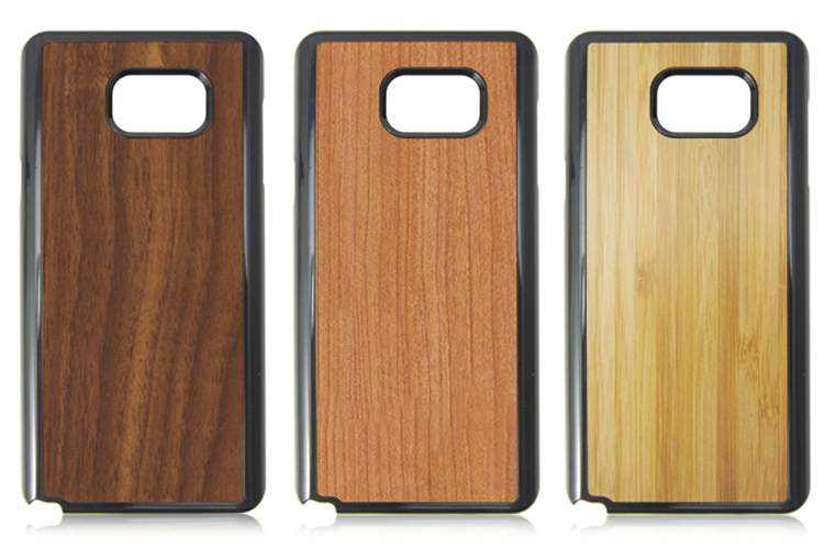 Eco friendly wood phone hull natural wooden case protective hard phone shell for Samsung note 5