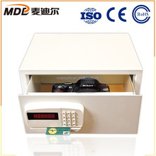 Credit Card Biometric Lock Drop Box Drawer Safe for Valuables
