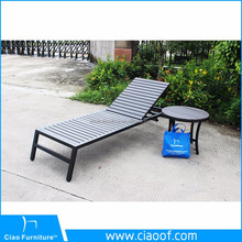 Foshan hot sale Wooden Outdoor Daybed Furniture