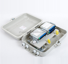 Pole Mount type 32 port outdoor waterproof Fiber Optic cable Termination/distribution/terminal Box