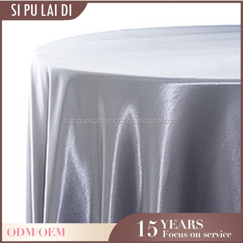 China satin wholesale restaurant wedding trendy table cloth 84x84