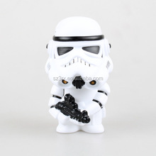 hot selling bobblehead toy in china supplier/custom oem storm trooper bobblehead toy/oem trooper bobble head toy