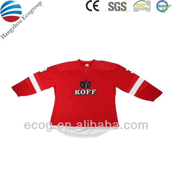 Ice hockey jersey customized design 2016 dry fit sport shirt