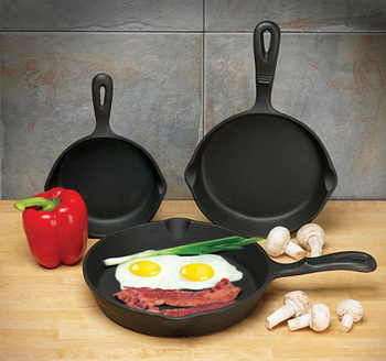 15cm 20cm 25cm cast iron fry pan