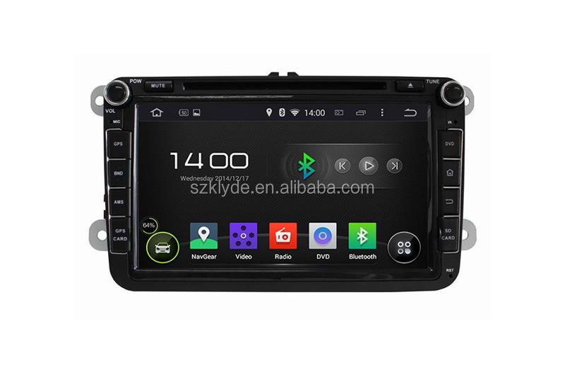 2 din 8 inch 4 core HD WIFI DAB+ 16GB android stereo system vw jetta car multimedia