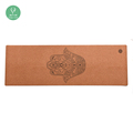 wholesale Natural Tree Rubber Private Label Cork Yoga Mat