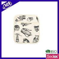 MK0206 kitchen cooking pot holder and oven mitt