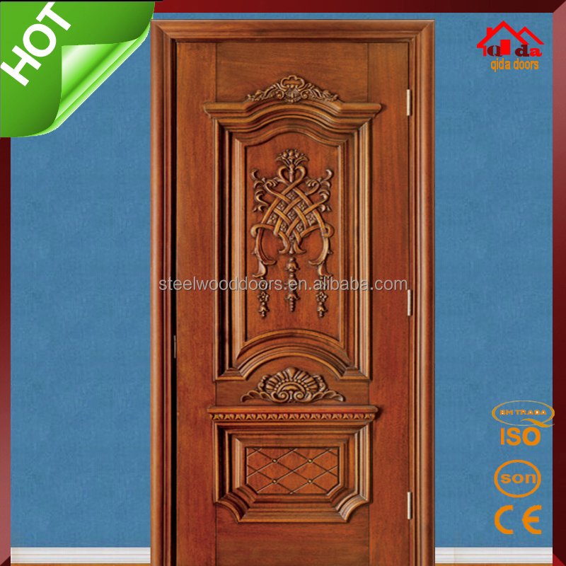 Bedroom Entry Main Teak Wood Door Design