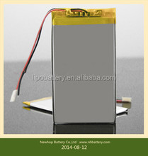Ultrathin polymer lithium battery for a variety of mobile power supply, tablet computers, electronic toys, medical instruments