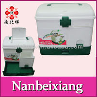 Economic Type Plastic Compartment Empty Waterproof First Aid Box