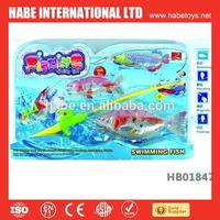 10-year intelligent games for kids, electric battery operated fishing game toy for kids