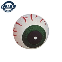 PU foam squeeze anti stress eyeball