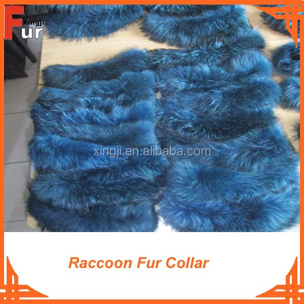 2016 Fashion real fur Raccoon Fur Collar