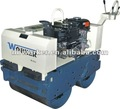 WKR600 walk behind steering road roller hydraulic drive double drum