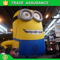 High quality advertising inflatable minion