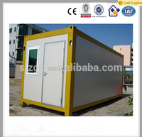Multi Size super large luxury fireproof and thermal insulation container room