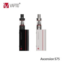 china wholesale VAPTIO new generation unique mini 75W ATC battery mods hookah vaporizer box mod e-cig