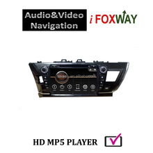 9 INCH CAR RADIO FOR 2014 COROLLA WITH GPS/DVD/BLUETOOTH
