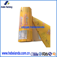 high quality banana chips food grade plastic packaging