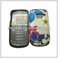 New double protect combo mobile phone case for Nokia c3