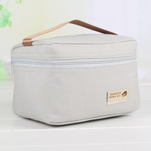 Custom logo hand carry picnic insulated food thermal cooler bag