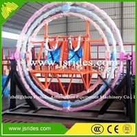 Playground equipment electric human gyroscope for sale