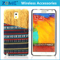 Hybrid Ethnic Style + Wood Grain PC Phone Cases Back Covers For Samsung Galaxy Note 3