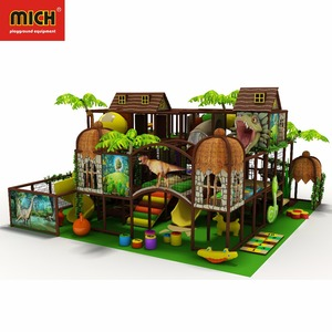 Commercial Customized Colorful Jungle Kid'S Zone Indoor Soft Playground Equipment