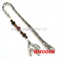 china manufacturer cheap and quality horse alloy bookmark, Horse Veterinarian Gifts
