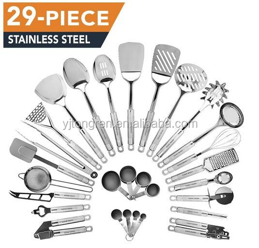 High Quality Useful 29 Pcs New Kitchen Cooking Tools 2016 Accessories
