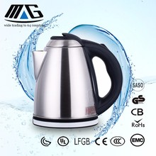 mg-153 OEM wholesale 304 stainless steel electric kettle hot drinking water heater