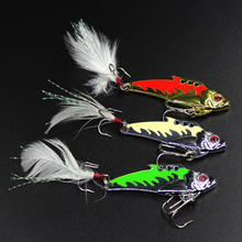 new fishing lure VIB lure reflective metalbaits fishing spoon manufacturer