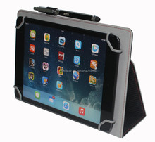 Hot selling Universal Flip leather case for ipad mini and 8 inch tablets