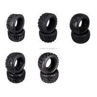 2PCS Natural Rubber Tire Tyre For