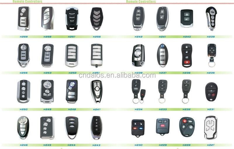 Keyless One Way Car Alarm System Spy Car Accessories For