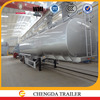 carbon steel truck tank trailer for oil fuel transportation