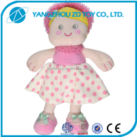 wholesale factory OEM cute girl stuffed baby toy