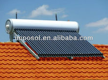 high pressure vacuum tube pitched roof solar water heater