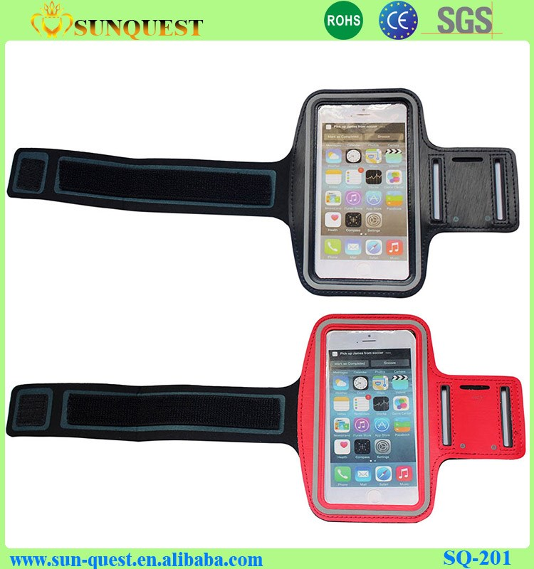 Easy Fit Sports Armband Gym Running Jog Case Arm Cover Holder For iPhone 5 5S 6 6S Plus