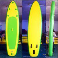Kids surf soft top big fishing inflatable paddle surfboard