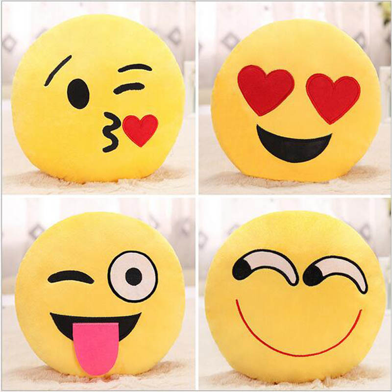 Emoji Pillow Large Poop Shaped Rainbow Colour Pillow, Emoticon Soft Stuffed Plush Cushion