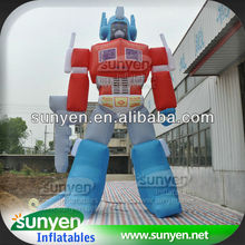 Inflatable Optimus Prime Transformers Advertising