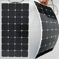 100W Flexible Solar Panel Sunpower Semi Maxeon 18V C60 21.8% High Efficiency Solar cell Charge