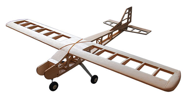 Balsa Wood RC Airplane Model T-40 Balsa KIT 1.6M For Gas Power and Electric Power Only KIT Without Covering