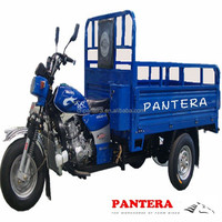 PT250ZH-11 China Supplier Heavy loading Cargo Use Hot in Africa 3 Wheel Motorcycle with Roof